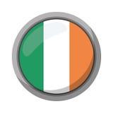 Emblem för flagga för St-patricksdag irländskt Royaltyfria Bilder