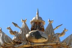 Emblem för ottomanvälde, gammalt turkiskt symbol royaltyfri foto