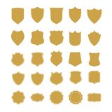 Emblem and Frame Collection Royalty Free Stock Image