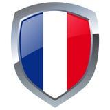 emblem france royaltyfri illustrationer