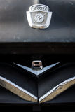 Emblem of the full-size pickup truck Ford F100. Royalty Free Stock Images
