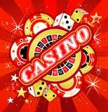 Emblem gambling casinos Stock Photo