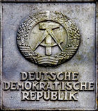 Emblem of German Democratic Republic Royalty Free Stock Images