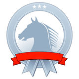Emblem with horse Royalty Free Stock Photo