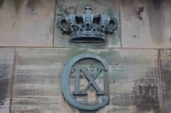 Emblem i Köpenhamn royaltyfri bild