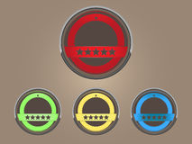 Emblem. Illustration of emblem - emblem illustration Royalty Free Stock Photo