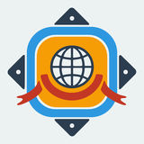 Emblem of International Peace Royalty Free Stock Photo