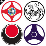 Emblem karate - Martial arts. Vector. Stock Photo
