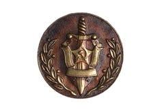 Emblem KGB arkivbild