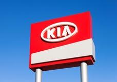 The emblem KIA motors Stock Photography