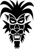 Emblem logo predator animal royalty free illustration