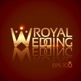 Emblem or logo for wedding studios Stock Images
