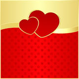 Emblem of love Royalty Free Stock Photography