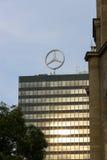 The emblem of Mercedes-Benz. Royalty Free Stock Photos