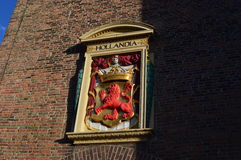 Emblem in netherlands. The image of emblem in netherlands Royalty Free Stock Photos