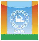 Emblem of the new house 1 Royalty Free Stock Photo