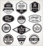 Emblem och etikettsamling Arkivfoton