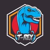 Emblem oder Logo für ein Sportteam Stockbilder
