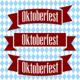 Emblem Oktoberfest beer festival 2017. Oktoberfest sticker. Stock Image