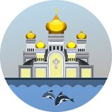 Emblem Orthodox Church Royalty Free Stock Photo