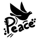 Emblem of peace Royalty Free Stock Photo