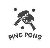 Emblem Ping Pong Royalty Free Stock Photo