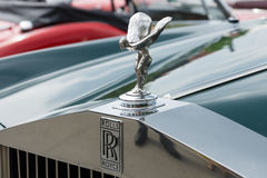 The emblem of Rolls-Royce, Spirit of Ecstasy Royalty Free Stock Photography
