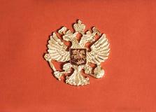 emblem russia arkivfoto