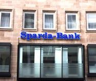 Emblem-Sparda-Bank stockfoto