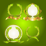Emblem of Thai rice Stock Images