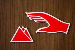 Emblem, Tissue Services. Stock Photos