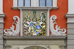 Emblem at town hall in Gotha Royalty Free Stock Photography