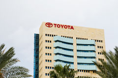 The emblem Toyota . Royalty Free Stock Photos