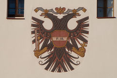 Emblem von Österreich Lizenzfreies Stockfoto
