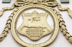 Emblem von Grodno Stockbild