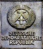 Emblem von Republik Lizenzfreie Stockbilder