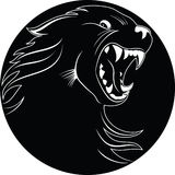 Emblem of wolf Royalty Free Stock Photos