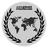Emblem world Royalty Free Stock Photography