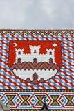 Emblem of Zagreb, Croatia Royalty Free Stock Photos