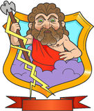 Emblem of Zeus Stock Image