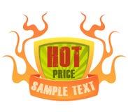 Emblema 2 do preço Foto de Stock