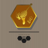 Emblema 6 Immagine Stock