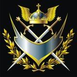 Emblema ilustração royalty free