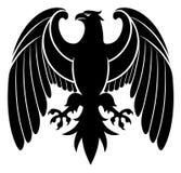 Emblema araldico dell'aquila illustrazione di stock