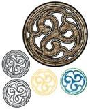 Emblema bronzeo Fotografie Stock