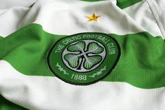 Emblema celta de FC imagens de stock royalty free