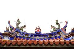 Emblema cinese Fotografia Stock