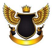 Emblema classico di stile. Immagini Stock