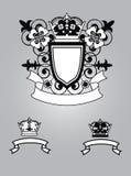 Emblema con las flores libre illustration