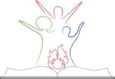 Emblema cristão Imagens de Stock